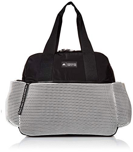 adidas Women's Sport To Street Premium Tote Bag, White/Black/White Mesh, ONE SIZE