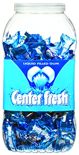 Center Fresh, Spearmint, Chewing Gum Jar, 672 g, 210 pc