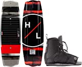 Hyperlite State 2.0 Wakeboard w/Remix Bindings Mens Sz 145cm/(10-14) Black