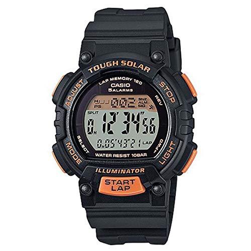 Casio Reloj Digital para Hombre de Energía Solar con Correa en Plástico STL-S300H-1B