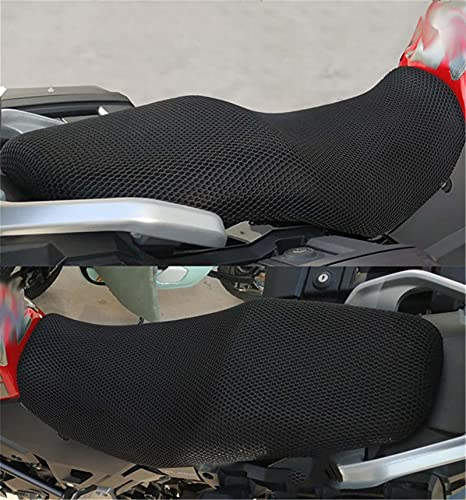 Motocicleta Accesorios Cubierta del Asiento de la Motocicleta Prevenir Bask en Scooter Scooter Aislamiento de Calor Cojín de cojín Ajuste para Suzuki DL250 / DL650 / DL1000 (Color : DL650)
