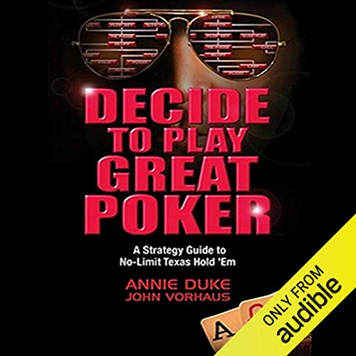 Couverture de Decide to Play Great Poker