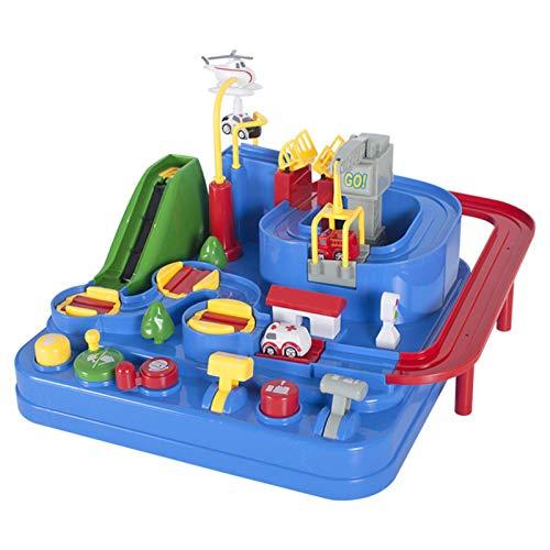 Hongzhi Juguete de aventura para coche, juguete para niños de 3 años y mayores, juguete para niños y niñas, juguete de aventura para coche para regalo de cumpleaños o Navidad