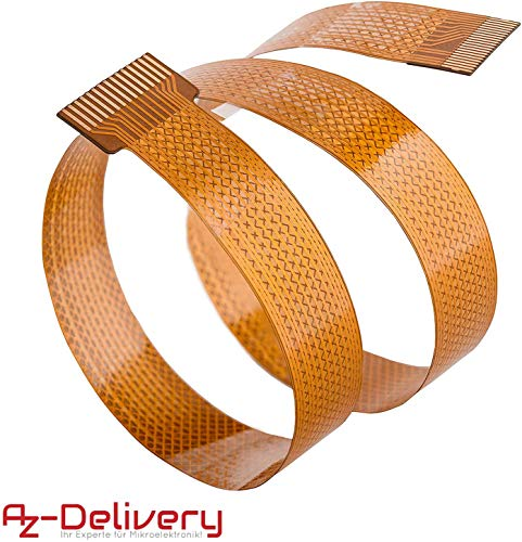 AZDelivery Vervangingskabel Flex kabel 15 cm voor Raspberry Pi Zero Camera/Display 15cm