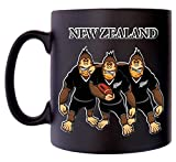 New Zealand Rugby Gorrilla All Blacks Klassek Caricature Shirt Sport Mug Café Thé Noir 283,5 g