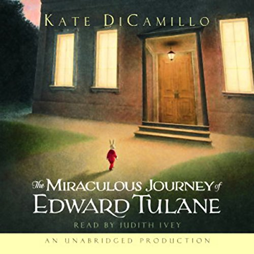 The Miraculous Journey of Edward Tulane                   By:                                                                                                                                 Kate DiCamillo                               Narrated by:                                                                                                                                 Judith Ivey                      Length: 1 hr and 55 mins     824 ratings     Overall 4.6