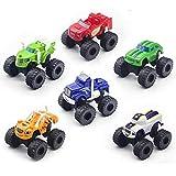 WQF 6 PCS/Set, Machines Car Toys, Truck Vehicles Big Truck Toys, Racing Los Mejores Regalos para niños
