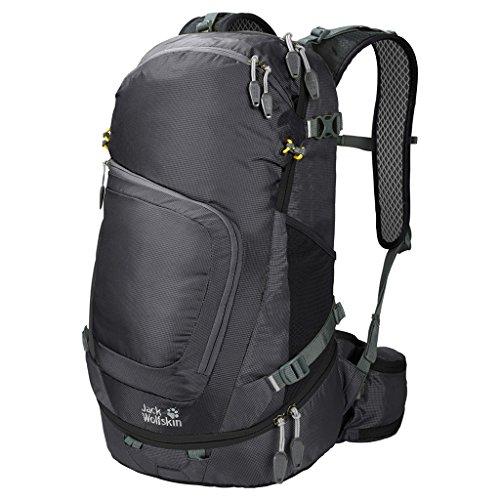 Jack Wolfskin Crosser 26 Pack Wandern Outdoor Trekking Rucksack, Black, 55x33x7 cm