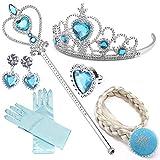Il set perfetto per completare principessa, Elsa, Cenerentola o altri costumi