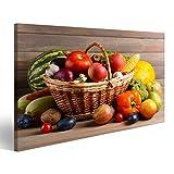 islandburner Bild Bilder auf Leinwand Obst und Gemüse im