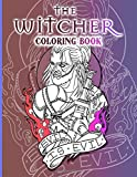 The Witcher Coloring Book: The Witcher Adult Coloring Books For Men And Women