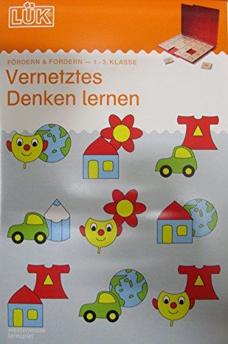 LÜK-Übungshefte: LÜK: 1./2./3. Klasse - Fördern & Fordern: Vernetztes Denken lernen