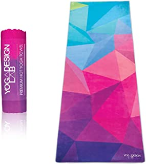 YOGA DESIGN LAB | The HOT Yoga Towel | Premium Non Slip Colorful Towel | Designed in Bali..