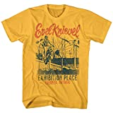 Evel Knievel American Iconic Daredevil Exhibition Place Toronto Adult T-Shirt Yellow