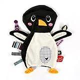 Vital Innovations LL-FR14037 Label-Label Schmusetuch Pinguin, grau