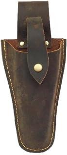 Funda de piel para correas de piel, bolsa para alicates, marrón