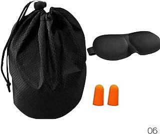 ZHUOTOP Travel Pillow Airplane Memory Foam Neck Pillow Comfortable Breathable Velvet Fabric Cover Storage Bag Ear Plug Blinder