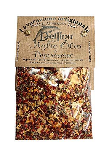 スパイス アーリオ・オリオ・ペペロンチーノ 50g デルフィノ社 イタリア産 (Italian Spice for Aglio oile e peperoncino by Delfino)