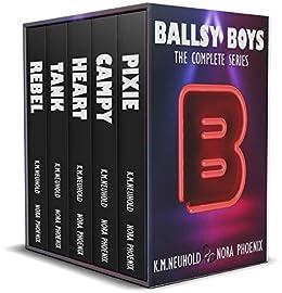 Ballsy Boys: The Complete Series by [K.M. Neuhold, Nora Phoenix]