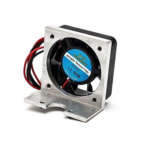 ILS 12 V DC Cooling Fan met metalen Bracket voor 3D-Printer Delta structuur J-HEAD extruder