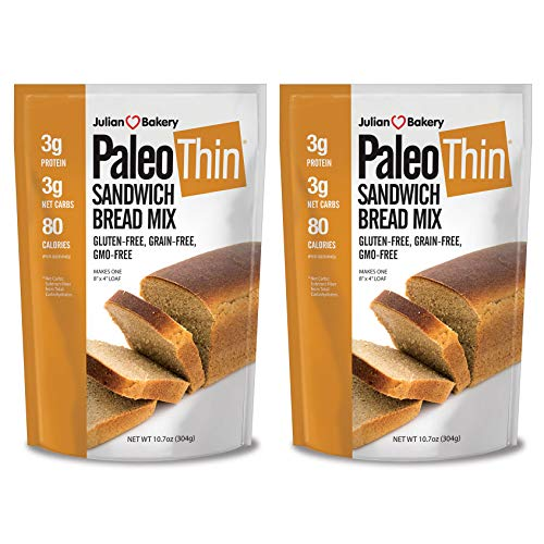 Paleo Bread Mix (2 Pack) (Low Carb, Grain-Free & Gluten-Free)