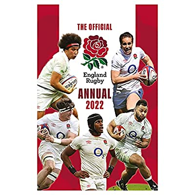 The Official England Rugby Annual 2022 from Grange Communications Ltd