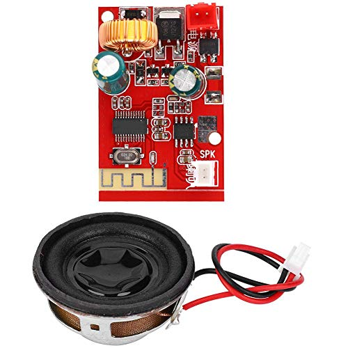 Alomejor Bluetooth Board Mini Bluetooth Audio Receiver Verstärkerplatine mit Stereolautsprecher für E-Bike