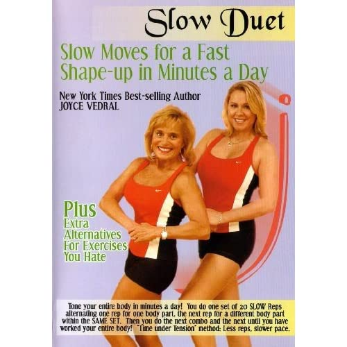 Amazon com: Joyce Vedral: Slow Duet Slow Moves For A Fast