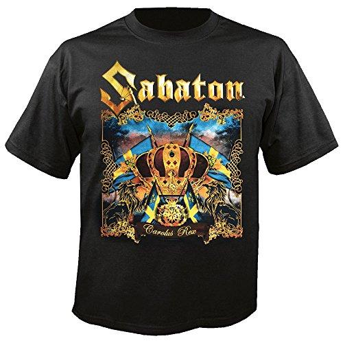Sabaton - Carolus Rex - T-Shirt Größe L