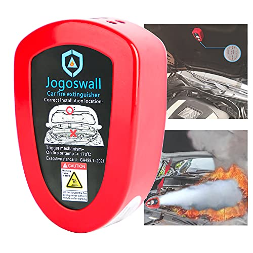 Jogoswall Automatic Fire Extinguisher,Fire Extinguisher Car,Small Fire Extinguisher,0.24lbs,Car Fire Extinguisher,clean agent fire extinguishers (CAR,SUV,TRUCK)