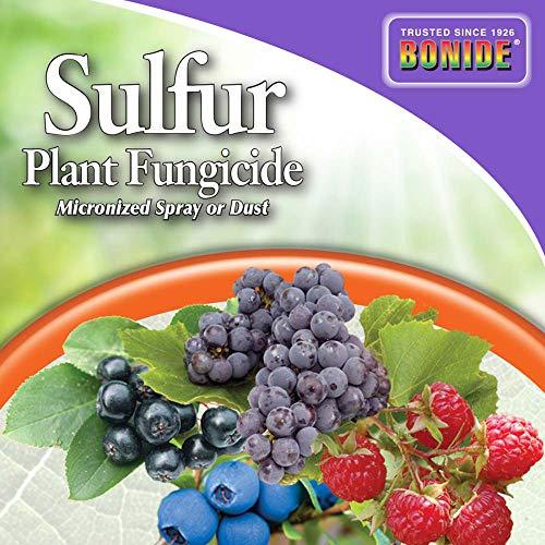 Bonide (BND1428) - Sulfur Plant Fungicide, Organically Controls Rust, Leaf Spot and Powdery Mildew (4 lb.)