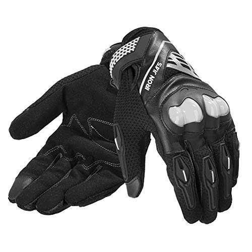 Motorbike gloves Full finger durable for road racing bike summer...
