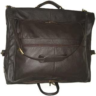 Amerileather Leather Three-suit Garment Bag (#2435-3)