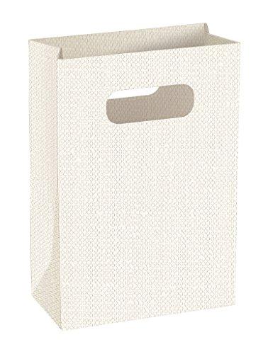 Boîte shopbox lin blanc 160 x 80 x 230 mm 10pz