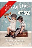 XL Hochzeitskarte Wilde Ehe ade! inkl.Kuvert,sehr originell