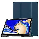 Fintie Funda para Samsung Galaxy Tab S4 10.5 con Soporte Incorporado de S Pen - Súper Delgada y Ligera Carcasa con Auto-Reposo/Activación para Modelo SM-T830/T835, Azul Oscuro