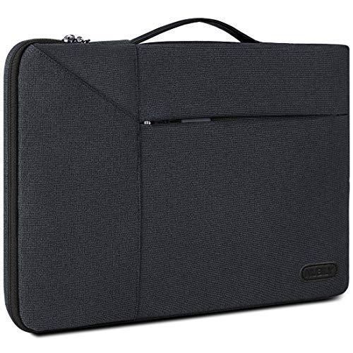 NUBILY Laptophülle Laptoptasche 14 Zoll Stoßfest Laptop Hülle Aktentasche wasserdichte Schutzhülle Sleeve Case Aktentaschen MacBook Notebook Laptop Tasche für Herren Damen