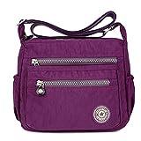 Moonbuy , Sac bandoulière pour femme violet violet s