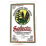 Selecta - Almidón de Mandioca - Almidón de Yuca - Producto Paraguayo - Ideal para Preparar Pan de Queso-1000 Kg