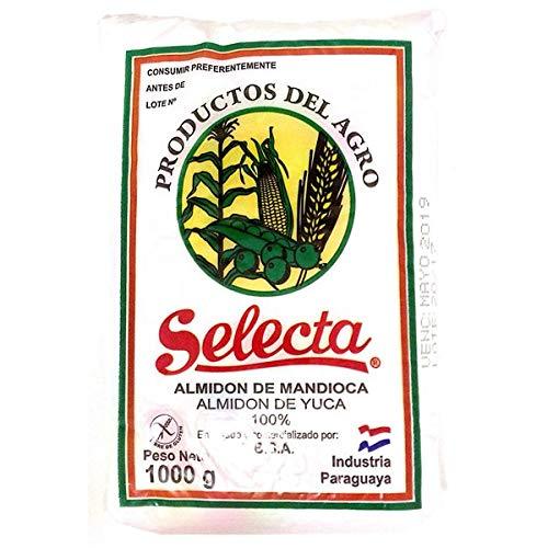 Selecta - Almidón de Mandioca - Almidón de Yuca - Producto Paraguayo - Ideal para Preparar Pan de...
