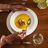 Villeroy & Boch - For Me Dinner-Set, 8 tlg., das Allround-Talent, Premium Porzellan, spülmaschinen-, mikrowellengeeignet, Weiß - 2
