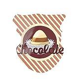 Huayuanhurug Bandana cubierta para la cara para hombres y mujeres, actividades al aire libre, bufanda sin costuras,  Chocolate tipografía con chocolate caramelo a rayas paralelas clásico, Talla...
