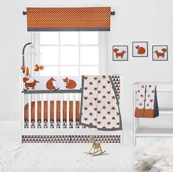 fox baby bedding set