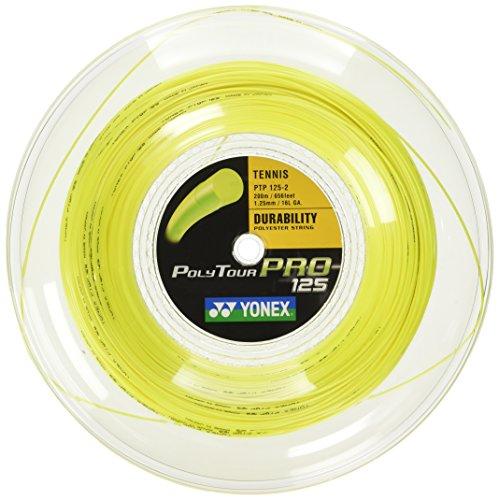 YONEX Cordaje Poly Tour Pro 125 200 MTS