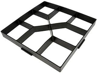 Moule /à 8 grilles en Plastique pour Pavage de pav/és en b/éton SOULONG Moule /à b/éton pour Pavage de Pavage en Pierre