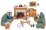 Sylvanian Families 5037 Deluxe Living Room - Set Mini para muñecas y accesorios, Multicolor