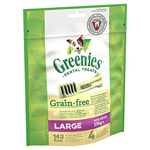 Greenies Daily Grain-Free Large Dog Treats (from 23 kg+) – The Smart...