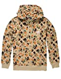 LRG Men's Lifted Research Collection Panda Pullover Drawstring Hoodie, Tan/Brown Camo, 3XL