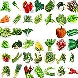 Semi di ortaggi biologici cinesi verdi da giardino 40 diverse varietà da 22000+ per piantare fuori dalla porta per cucinare piatto zuppa gusto buonissimo 100% non OGM