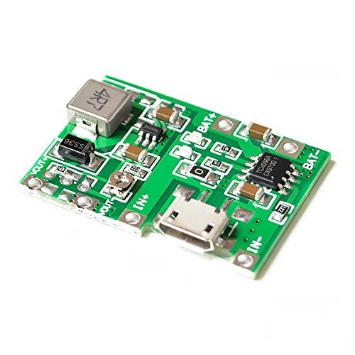 Relais 10pcs lot Lithium Li-ION 18650 3.7v 4.2V Batterie Charger de Chargeur de Batterie DC-DC Step Up Module de Boost TP4056 DIY Kit pièces commutateur de Relais WiFi